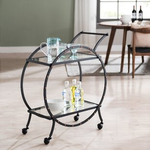 Hiro Art Deco Bar Cart