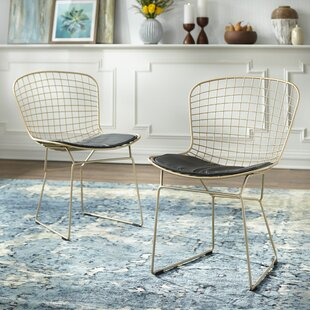 Merrimac Wire Upholstered Side Chair (Set of 2)