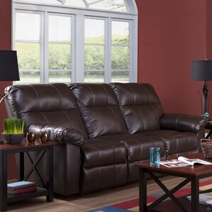 Serta Upholstery Manchester Reclining Sofa by Alcott Hill