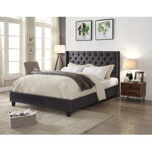 Bayswater Queen Upholstered Panel Bed by Rosdorf Park