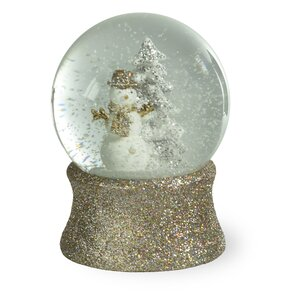 Glitzy Snowman Snowglobe