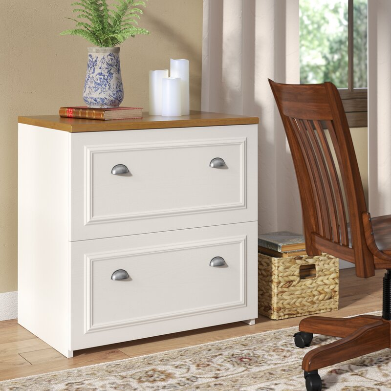 beachcrest home oakridge 2-drawer lateral filing cabinet & reviews 2 drawer lateral file cabinet