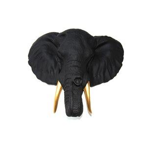 Faux Taxidermy Elephant Wall Du00e9cor