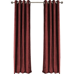 Very best Burgundy Velvet Curtains | Wayfair NG07