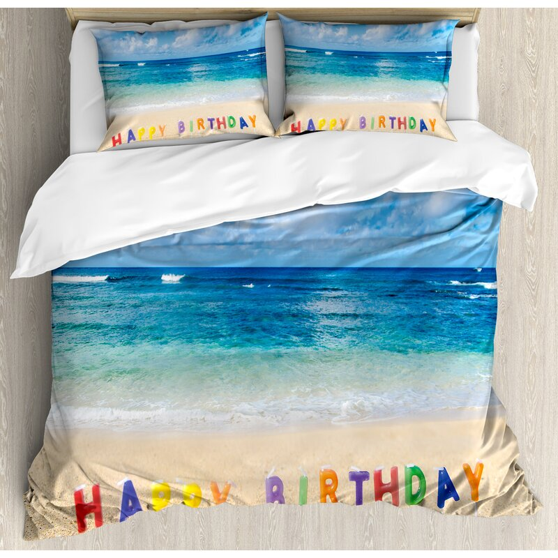 Birthday Decorations Duvet Cover Set