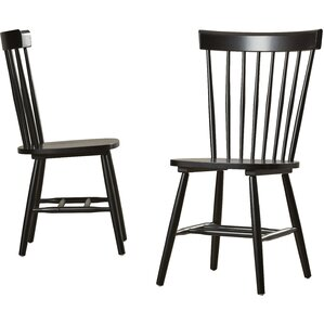 royal palm beach solid wood dining chair set of 2 - Dining Chairs