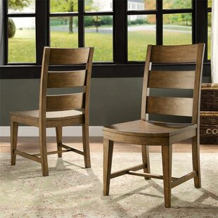 Woosley Solid Wood Dining Chair (Set of 2)