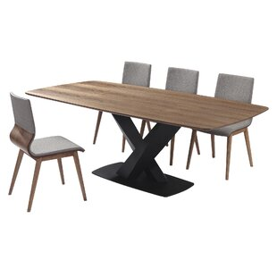 Bridgwater 5 Piece Dining Set (Set of 5)