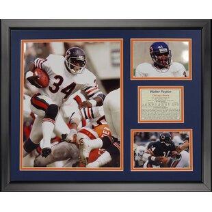 9905f317ee2 NFL Chicago Bears - Walter Payton Framed Memorabili