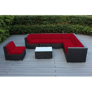 Ohana 8 Piece Seating Group with Cushions