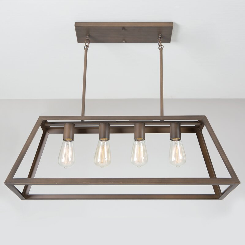 Yolla 4-Light Kitchen Island Pendant & Reviews