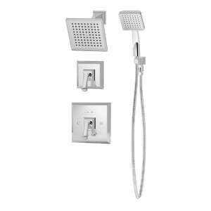 Oxford Pressure Balance Shower and Hand Shower with Lever Handle