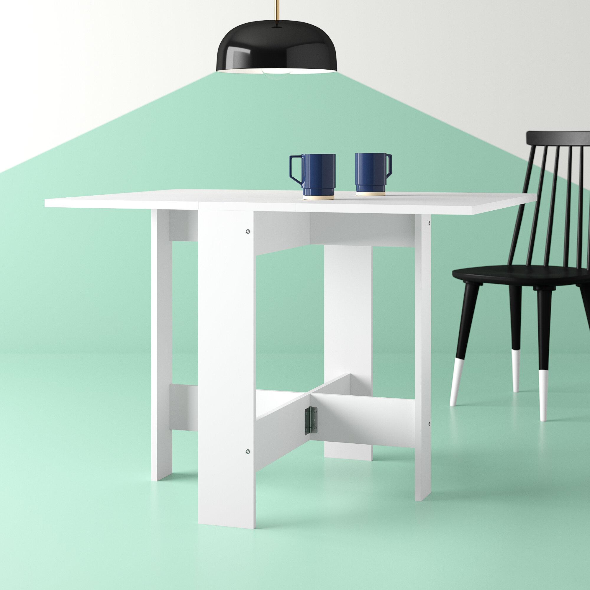 Hashtag Home Astrid Foldable Dining Table Reviews Wayfair Ca
