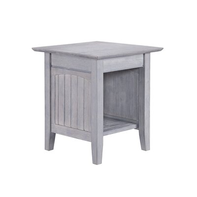 Highland Dunes Glenni Solid Wood End Table with Storage Wayfair