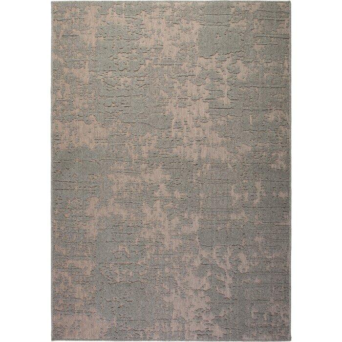 Corr Flat Woven Wool Grey Rug