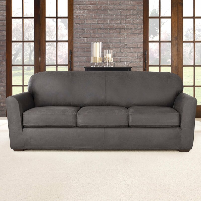Beau Ultimate Stretch Box Cushion Sofa Slipcover