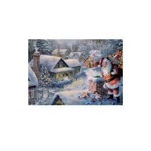 Korsch Santa on Roof Advent Calendar