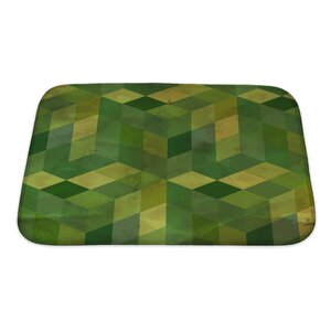 Gamma Vintage Pattern Abstract Bath Rug