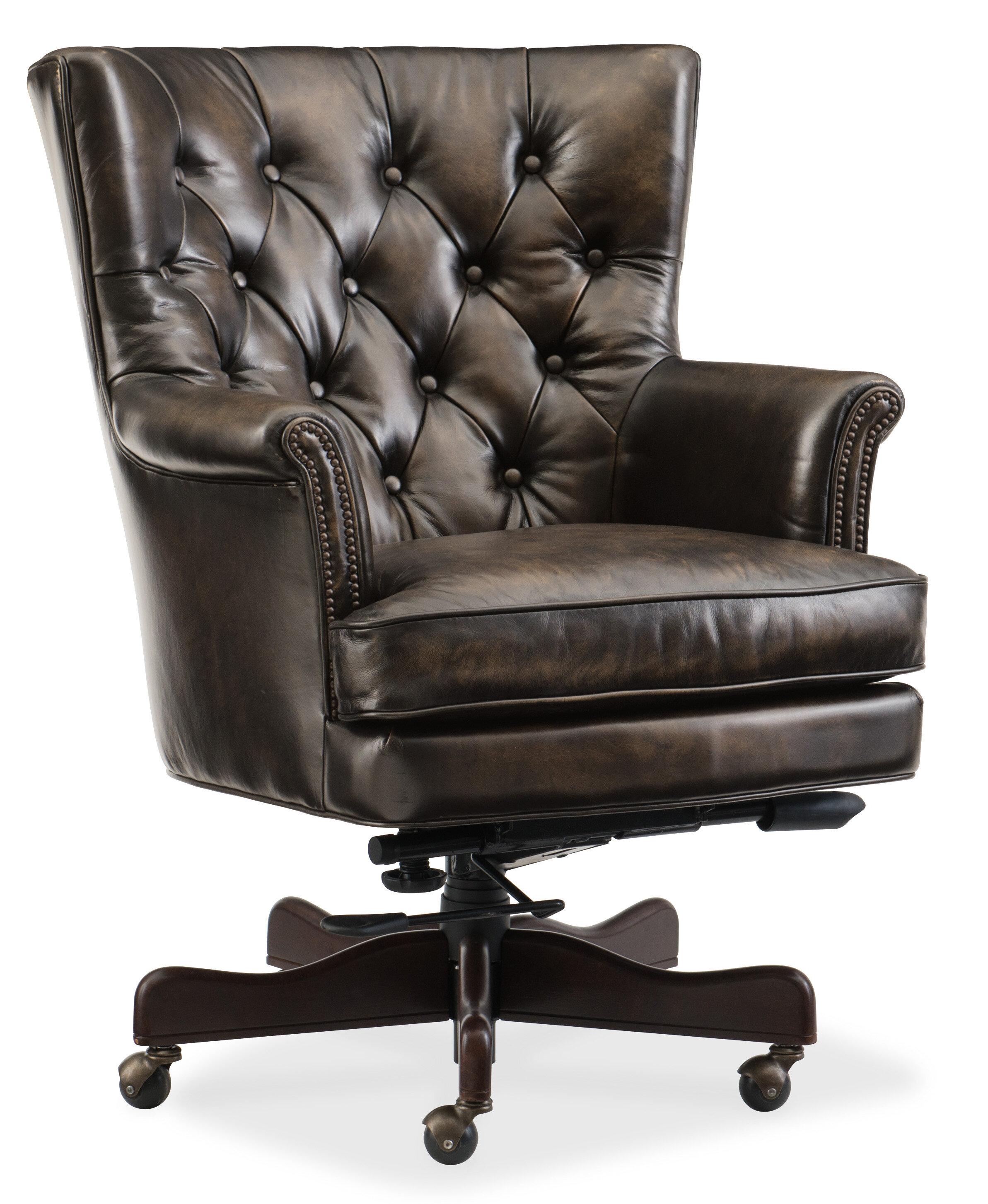 Furniture Home Office Chairs High Back Leather