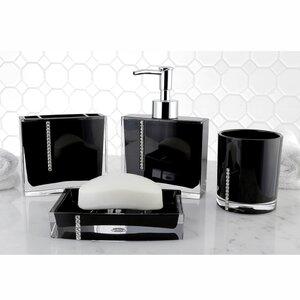 Melynnie 4-Piece Bathroom Accessory Set
