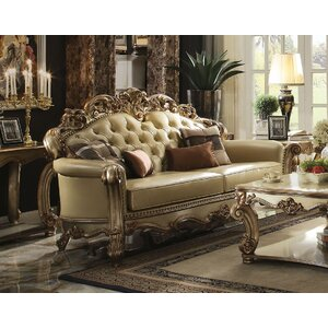 mccarroll wood frame sofa with 4 pillow - Exposed Wood Frame Sofa