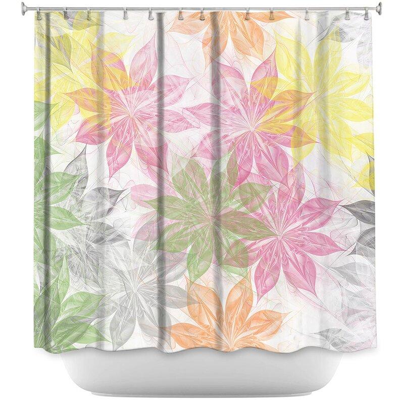 Lemon Scented Shower Curtain