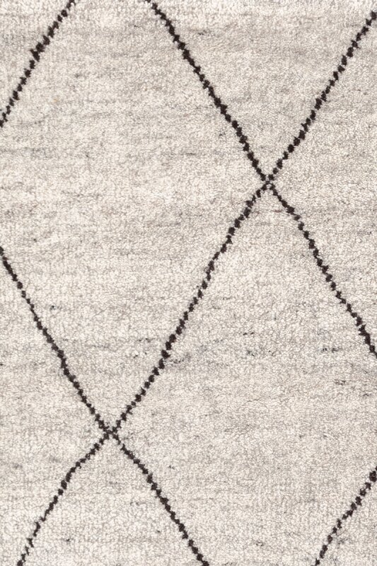 Hand Knotted Gray Area Rug Amp Reviews Perigold
