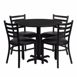 Pierron 5 Piece Dining Set by Red Barrel Studio