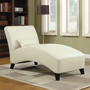 Brennan Leather Chaise Lounge