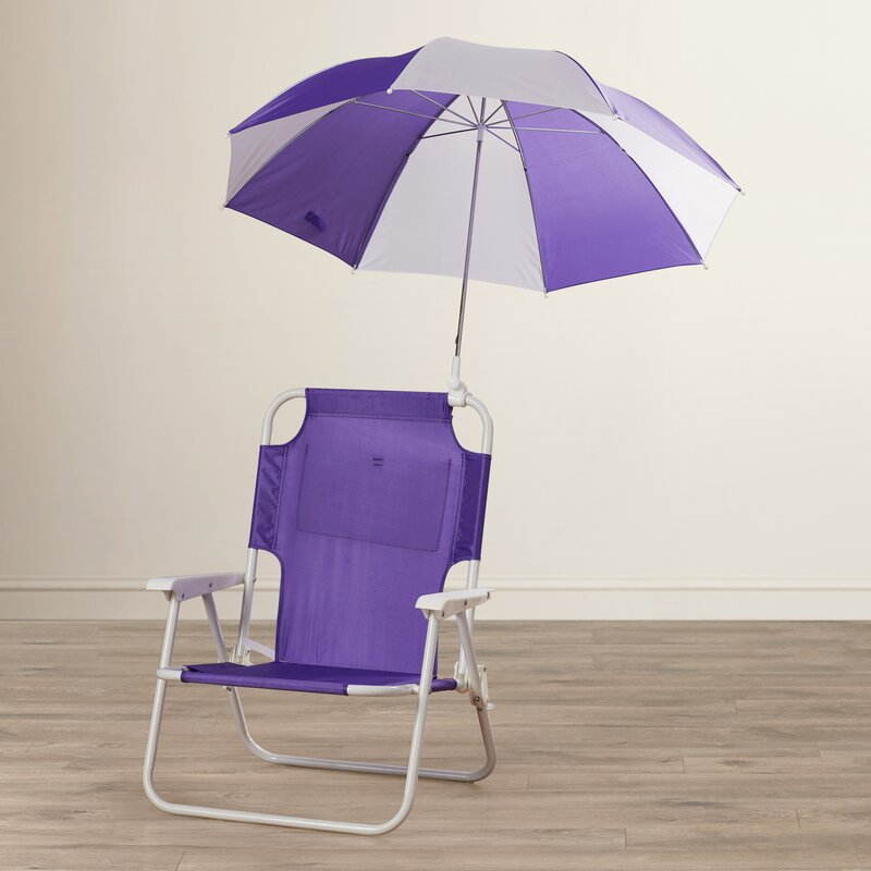 Zoomie Kids Alexus Umbrella Kids Beach Chair Amp Reviews