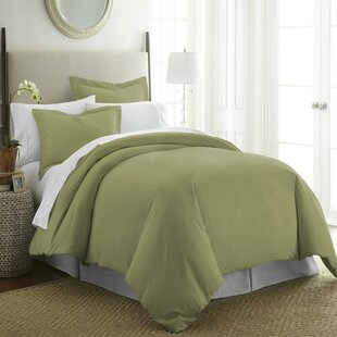 Merveilleux Hunter Green Duvet Cover | Wayfair