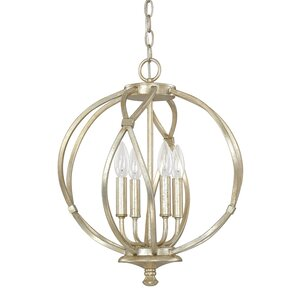 Cecil 4-Light Foyer Pendant