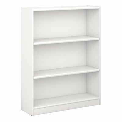 Ebern Designs Kirkbride Standard Bookcase Finish: Pure White