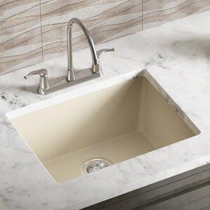Undermount Kitchen Sink With Drainer drain board kitchen sink | wayfair