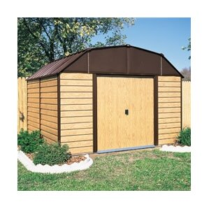 w x 9 ft d metal storage shed