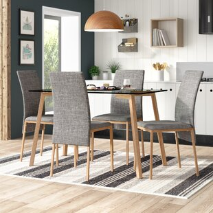 Reba Dining Table and 4 Chairs & Dining Table Sets Kitchen Table u0026 Chairs Youu0027ll Love | Wayfair.co.uk