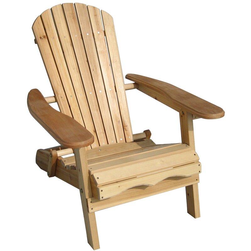 Incroyable Lissette Folding Adirondack Chair