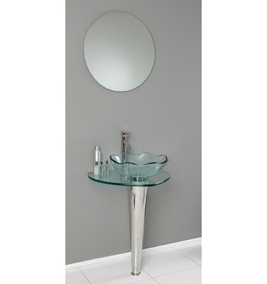 "Kokols 24 Bathroom Vanity Set kokols 24"" single bathroom vanity set & reviews   wayfair"