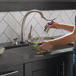 Kitchen Faucets. Pull Down Kitchen Faucets You ll Love  Wayfair