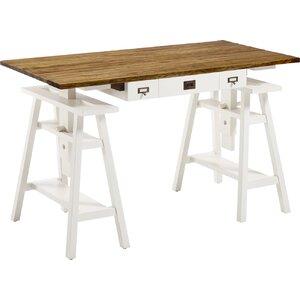 3-tlg. Schreibtisch von Moycor