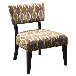 Genova Cotton Slipper Chair by Hokku Designs