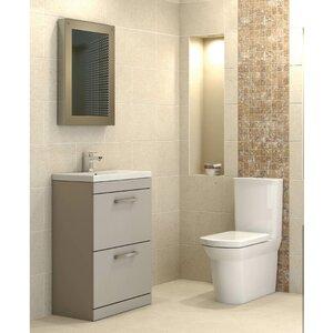 Badezimmer-Set Shipton mit beleuchtetem Spiegel von Premier