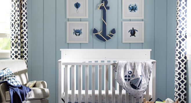 How To Decorate A Nautical Nursery