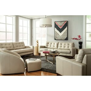 Erdman Leather Configurable Living Room Set Part 76