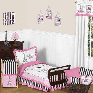 Paris 5 Piece Toddler Bedding Set