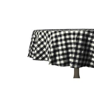 Black Check Tablecloth Wayfair