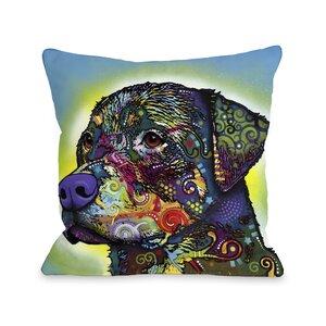 Doggy Du00e9cor The Rottweiler Throw Pillow