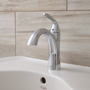 Fluent Monoblock Bathroom Faucet Single Handle
