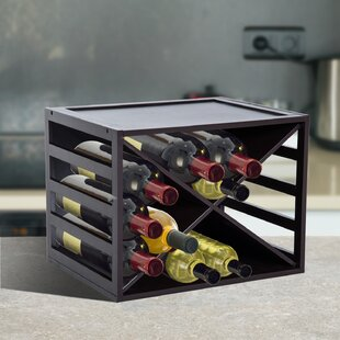 Lott 16 Bottle Tabletop Wine Rack
