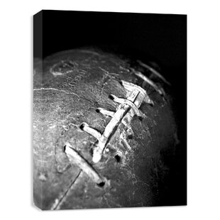 Vintage Football Photographic Print On Canvas